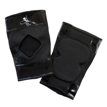Sticky back knee pads for pole dancing – Classic Black