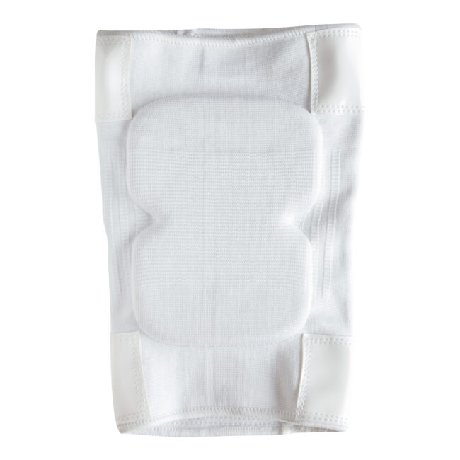 Sticky-Back-Knee-Pads-for-Pole-Dancing-and-floorwork-Front-White