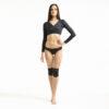 Long Sleeve Ballerina Top BLACK