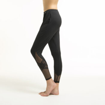 Slim warm-up pants