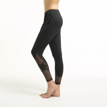 Slim warm-up pants