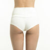 Pull up, pull down Shorts Ivory White