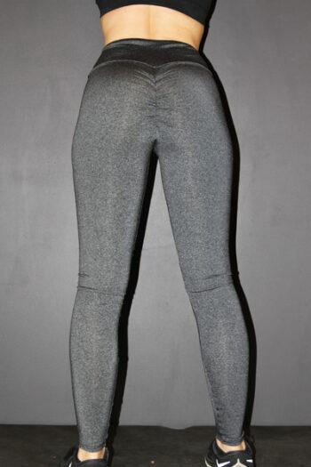 Dark Grey Marle Full Length Tights Legging