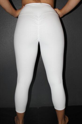 White 7/8 Tights Legging
