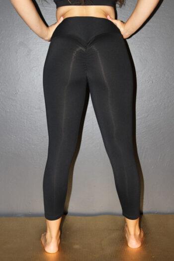 Matte Black 7/8 Tights Legging