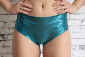 Jade Sparkle Naughty Fit Shorts