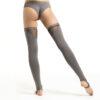 Thigh High Leg Warmers Grey
