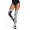 Thigh High Socks Grey Melange