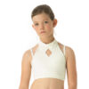 Diamond Top for Kids Ivory White