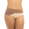 Movement High-Low Shorts POWDER 00/NUDE 02