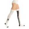 Thigh High Socks Ivory White