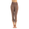 Slim warm-up pants nude 02 (fold over)