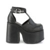 CAMEL-103 Black Vegan Leather